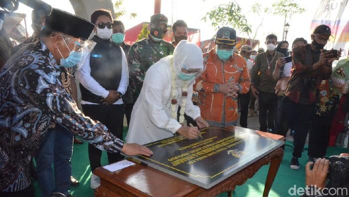 gubernur khofifah meresmikan wisata edukasi