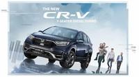 Honda Luncurkan CR-V Terbaru, Punya Fitur Canggih Honda Sensing