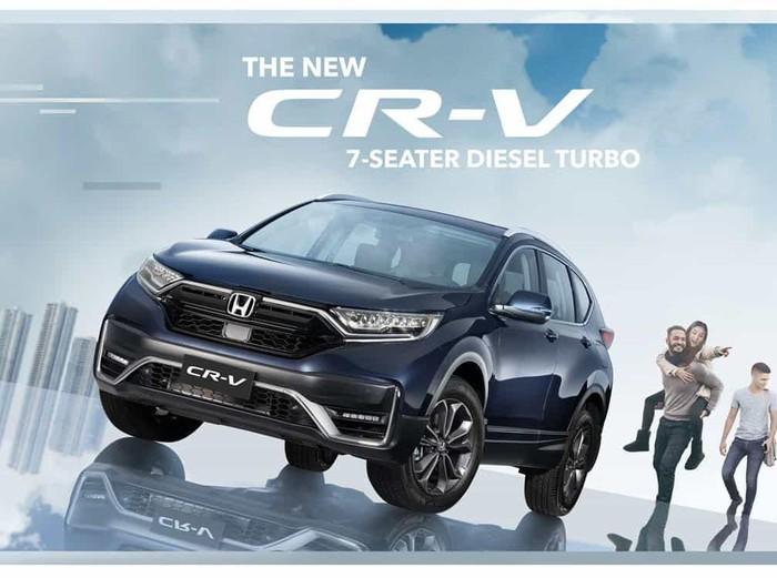 Honda CR-V terbaru yang meluncur di Filipina