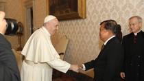 Momen JK Bertemu Paus Fransiskus, Bahas Kemanusiaan-Perdamaian