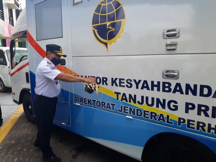 Mobil Keliling Kesyahbandaran Tanjung Priok