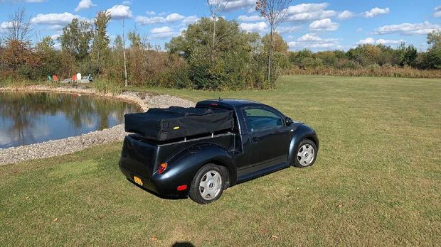 VW Kodok jadi mobil pikap