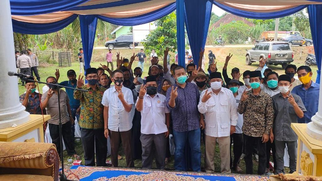 Kampanye, Cabup Petahana Tanjung Jabung Timur Tak Mau Berjanji