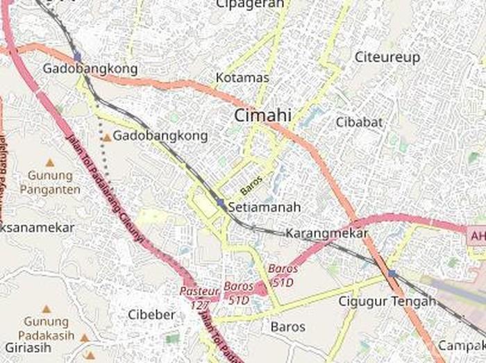 Peta Cimahi