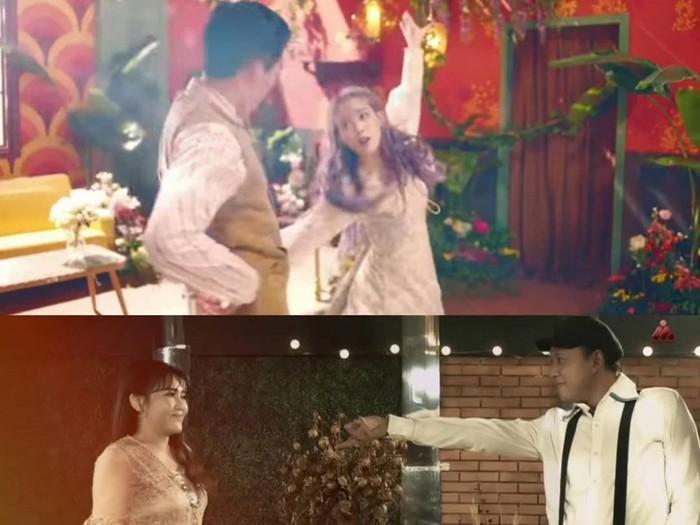 Potongan Video Klip Via Vallen Kasih Dengarkanlah Aku yang Plagiat Konsep IU