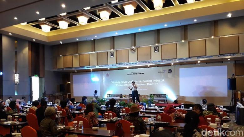 Suasana Seminar Pariwisata dan Ekonomi Kreatif yogyakarta