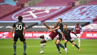 Manchester City Seri 1-1 Kontra West Ham