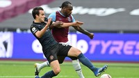 West Ham Unggul 1-0 dari Man City di Babak Pertama