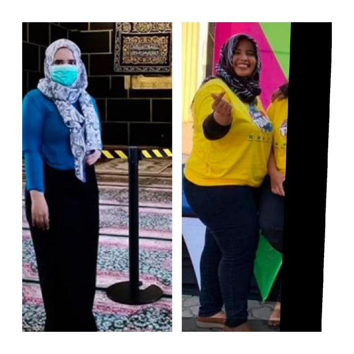 Seorang gadis di Blitar bisa menurunkan berat badan hingga 22 kg tanpa diet ketat dan pantangan. Ia hanya olahraga dalam kamar.