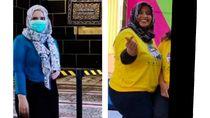 Gadis di Blitar Turunkan Berat Badan 22 Kg dengan Olahraga dalam Kamar