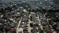 Foto Udara Banjir Jatirasa Bekasi