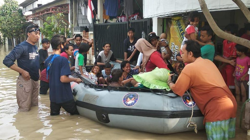 Kabupaten Bekasi Juga Terendam Banjir, Ini Sebaran Lokasinya
