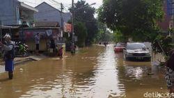 Banjir Bekasi, Begini Kondisi Terbaru Villa Jatirasa yang Masih Tergenang