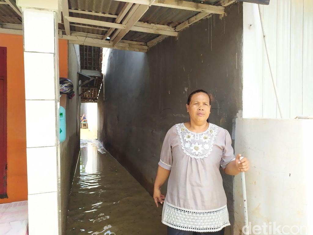 Banjir di Villa Jatirasa Bekasi (Arun/detikcom)
