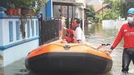 Banjir Merendam Perumahan Warga di Bogor