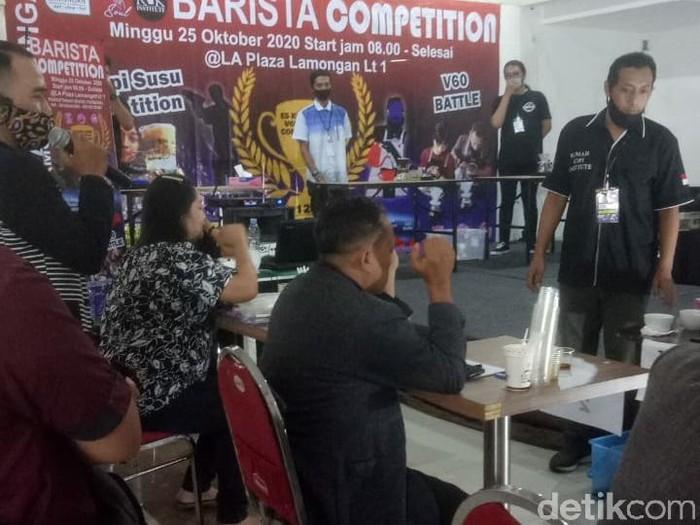 Barista Competition yang digelar di Plaza Lamongan