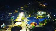 Foto: Malam-malam Berendam Air Panas Dulu di Garut