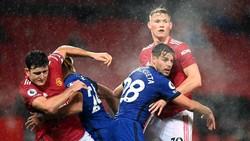 Man United Vs Chelsea Sama Kuat di Babak Pertama