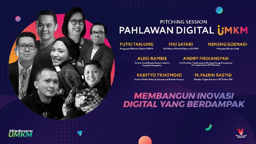 Program Pahlawan Digital UMKM, Inovator Diminta Bangun Inovasi Berdampak
