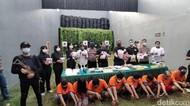 8,8 Kg Sabu Disita Polisi Surabaya dari 8 Tersangka
