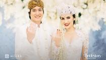Momen Bahagia Pernikahan Kevin Aprilio-Vicy Melanie Dirasakan Jokowi