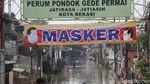 Potret Banjir Pagi Ini di Perumahan Pondok Gede Permai Bekasi