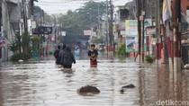 Video: Banjir di Pondok Gede Permai Bekasi Belum Surut