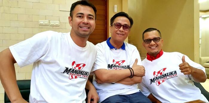 Raffi Ahmad Jadi Duta Mandalika Racing Team Indonesia