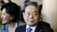 Suasana Rumah Duka Mendiang CEO Samsung Lee Kun-hee