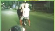 Viral Atraksi Angkat Ban Depan Motor di Jalanan Sulsel, Polisi Turun Tangan