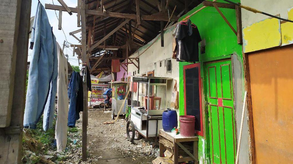 Belasan Rumah Korban Puting Beliung di Babelan Sudah Diperbaiki