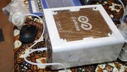 Alat deteksi corona lewat embusan napas yang dikembangkan UGM yaitu GeNose terus berprogres. Saat ini teknologi pengendus Corona memasuki tahap uji diagnostik.