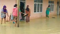 Banjir Cianjur Selatan, Puluhan Rumah-Jalan Nasional Masih Tergenang Air
