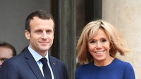 7 Gaya Andalan Istri Presiden Macron yang Suaminya Dikecam Umat Islam