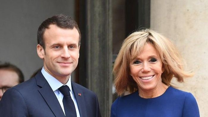 HAMBURG, GERMANY - JULY 07:  Brigitte Macron attends a concert at the Elbphilarmonie concert hall on the first day of the G20 economic summit on July 7, 2017 in Hamburg, Germany. The G20 group of nations are meeting July 7-8 and major topics will include climate change and migration.  (Photo by Michael Ukas - Pool / Getty Images)