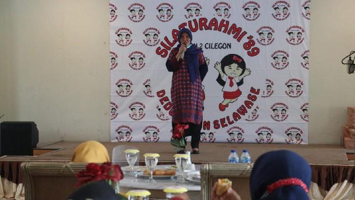 Cawalkot Cilegon Ratu Ati Marliati saat kampanye tatap muka. (Foto: dok. Istimewa)