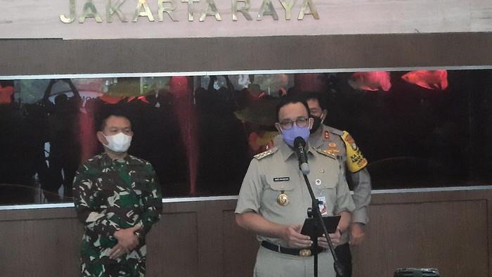 Gubernur DKI Jakarta Anies Baswedan di Polda Metro Jaya