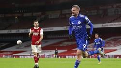 Jamie Vardy, Meriam Penakluk Arsenal