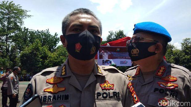 Kabid Humas Polda Sulsel Kombes Ibrahim Tompo (Hermawan-detikcom).