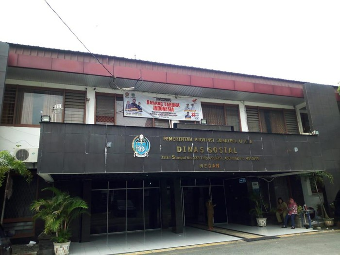 Kantor Dinas Sosial Sumatera Utara (Datuk-detikcom)