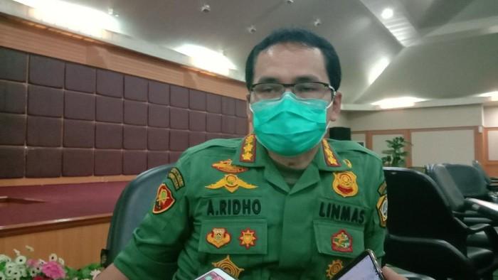Kasatpol PP Kabupaten Bogor Agus Ridallah.