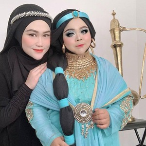 Penampilan Kekeyi yang Beda Banget Setelah Didandani Jadi Putri Jasmine