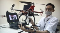 LIPI Siapkan Drone Pendeteksi Kerumunan saat Pilkada