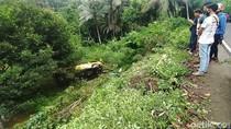 Video Elf Jurusan Ciamis-Cirebon Terjun ke Jurang, 1 Penumpang Tewas