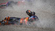Rahasia Pebalap MotoGP Bisa Langsung Jalan Usai Kecelakaan