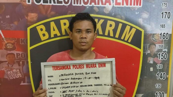 Polisi tangkap perampok minimarket di Sumsel (dok. Istimewa)