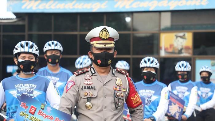 Polres Tangerang Kota bentuk Tim The 9 Bicycle Patrol (Foto: dok. Polres Tangerang Kota)