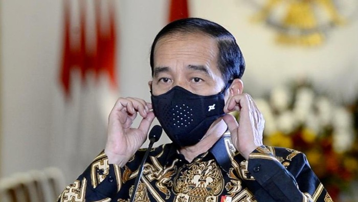 Presiden Jokowi pidato dalam peringatan HUT IDI