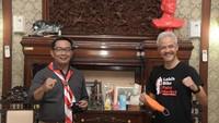 Ganjar & Sultan HB X Kompak Naikkan UMP, Ridwan Kamil Ikut Menaker