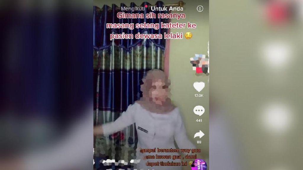 Viral Wanita Petugas RS Berebut Pasang Kateter Demi Lihat Mr P